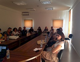 Training of women in democratization and the role of women in decision making processes