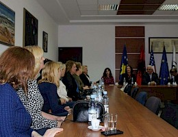 Meeting between Kosovo Parliament Members and grass root women