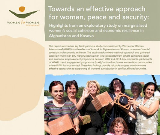 An exploratory comparative research study conducted for the work of WfWI in Afghanistan and Kosovo