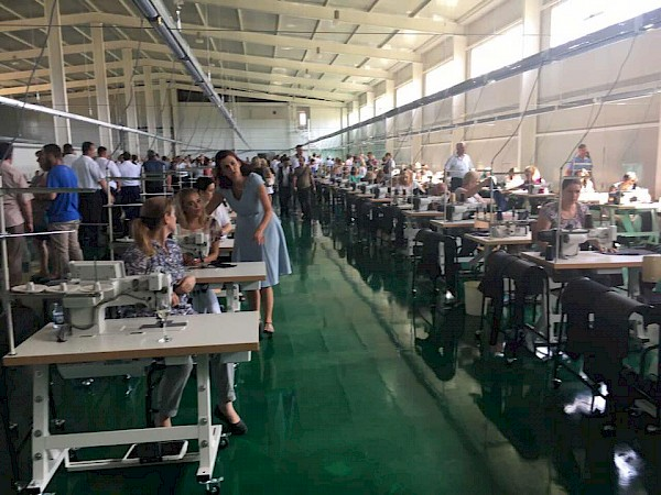 "Inauguration of textil fabric ""Vitex"""