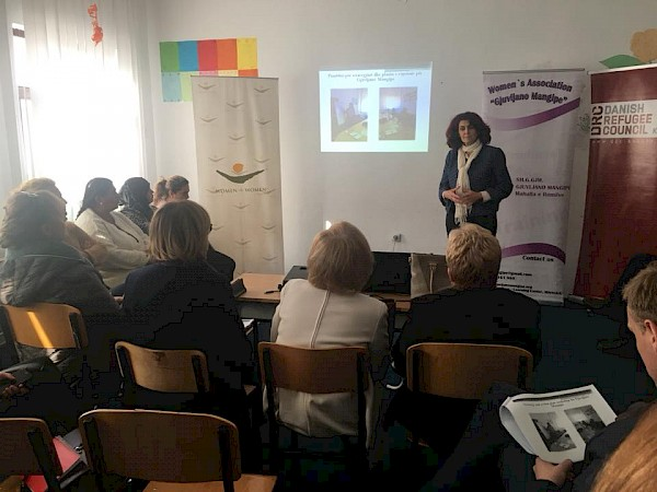"Closing event of the project "" Fostering self-reliance among Roma, Ashkali and Egyptian women in Mitrovica"""