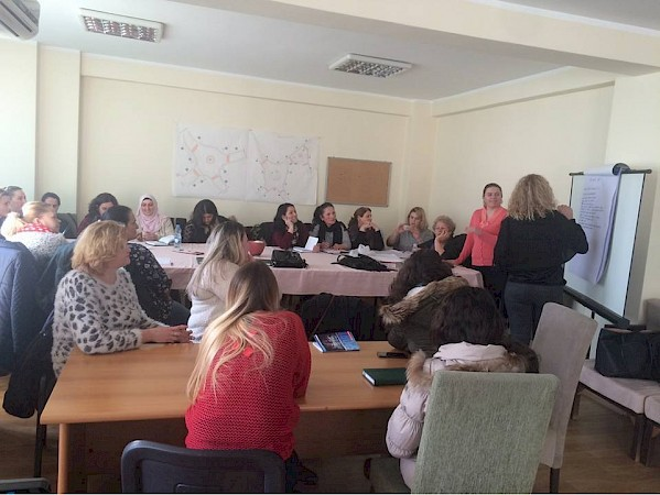KW4W training of women for childcare in Municipality of Ferizaj