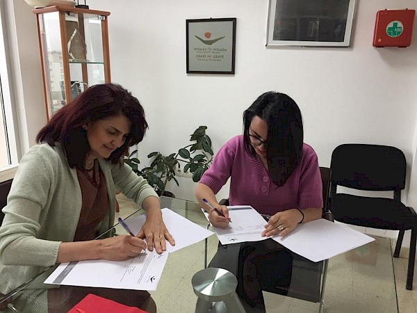 "KW4W signed a Memorandum of Understanding with the ""Shkronjat"" Kindergarten"