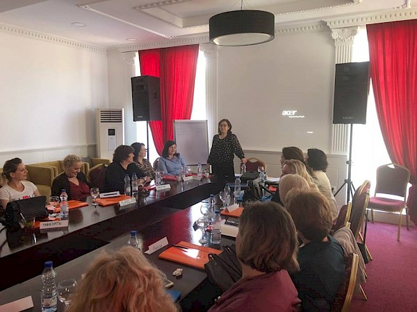 Advocacy training with active women from Mitrovica