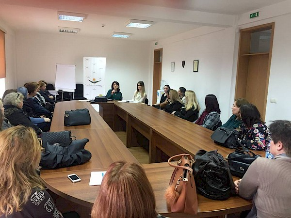 "KW4W activities training as part pf the project ""Adjoining Women and Market"" in Prinshtinë"