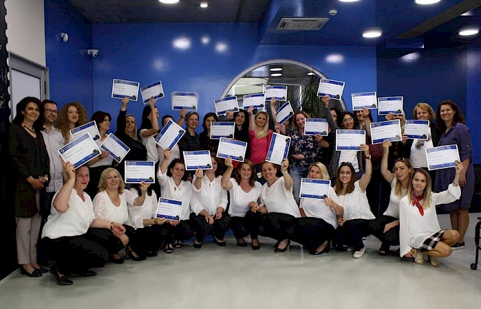 Certification ceremony by ECDL Cacttus Education for the leading women from municipality of  Ferizaj and Prishtinë