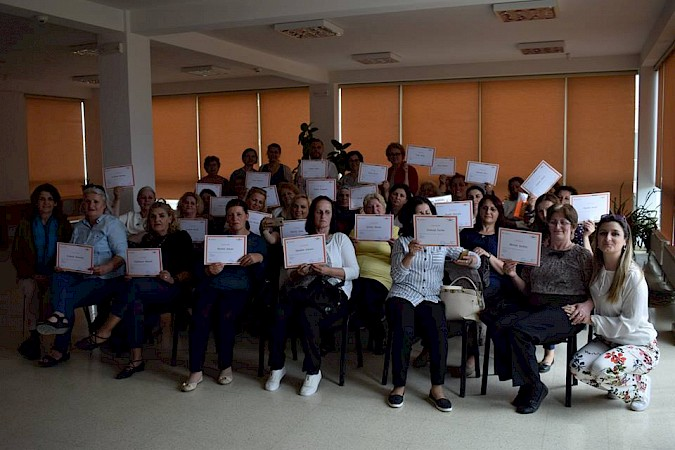 Certification ceremony on Soft Skills training for associations' leadership from Ferizaj and Prishtina