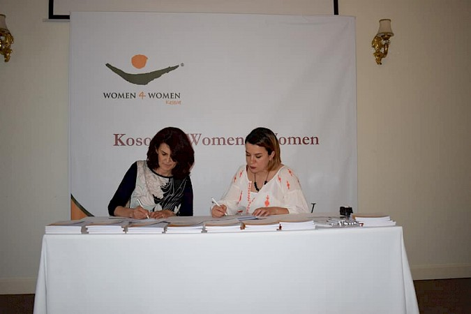 "KW4W as part of the Job Placement Office activities of signed a Memorandum of Understanding with the ""Babies & Toddlers"" Kindergarten"