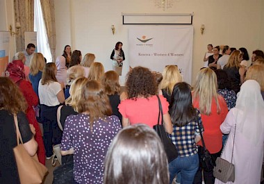 KW4W organized a Job Fair for the trained women as part of the project 'Adjoining Women and Market'