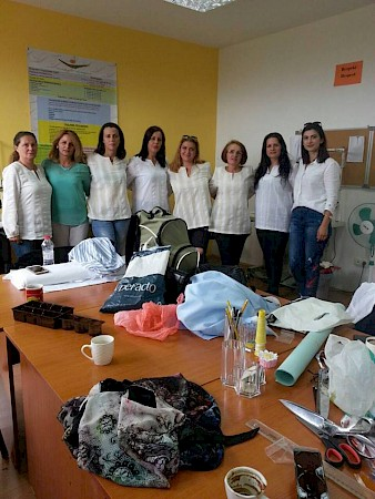 Kosova-Women 4 Women finished successfully the sweing training