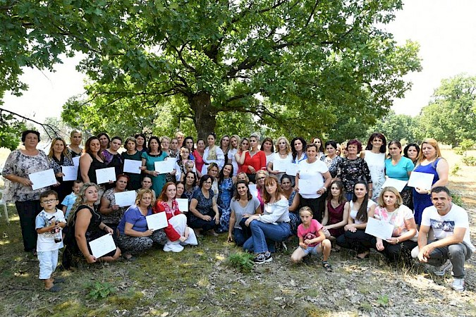 52 women graduate from KW4W program, from village Turiqevc, Municipality of Skenderaj