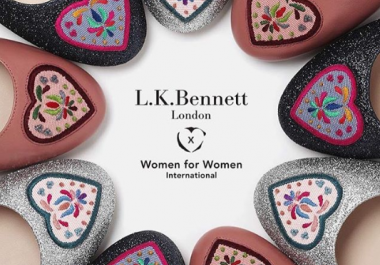 Collaboration with L.K. Bennett and Women for Women International