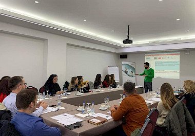 A one-day training on 'Sales Workshop, Customer Relationship Management, and Emerging Markets'