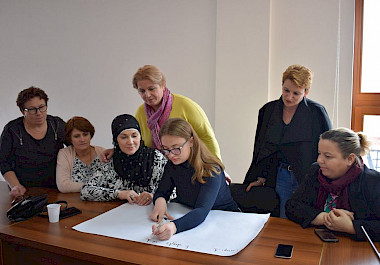 "Two-day training on ""Women's property rights and basic presentation skills"""