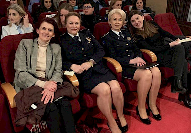 "Iliriana Gashi, Director of KW4W participates in the conference ""Empowerment of Women in Institutions and the Role of Women in State Empowerment"""