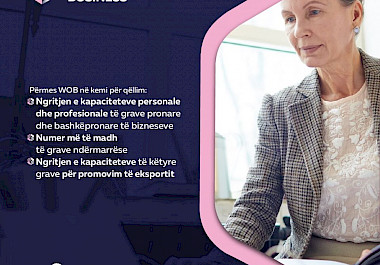 The mission of Women Owned Business (WOB)
