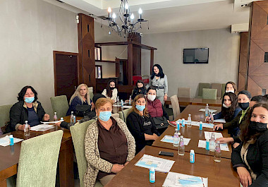 Information sessions on women's participation in decision-making and advocacy in the municipality of Ferizaj