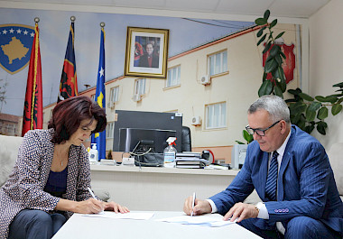 "In the framework of the project ""I SEE"" K-W4W signed a Memorandum of Understanding with the Municipality of Lipjan for cooperation"