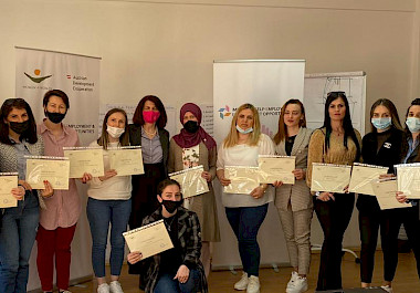 "Graduation of the participants of the project ""I SEE"""
